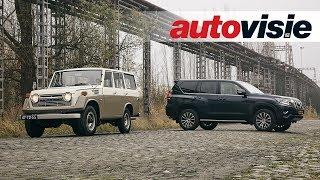 Toyota Land Cruiser 2018 en 1977 - Behind the Scenes - Autovisie Vlog