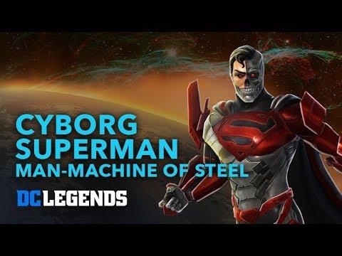 DC Legends: Cyborg Superman - Man Machine of Steel Hero Spotlight
