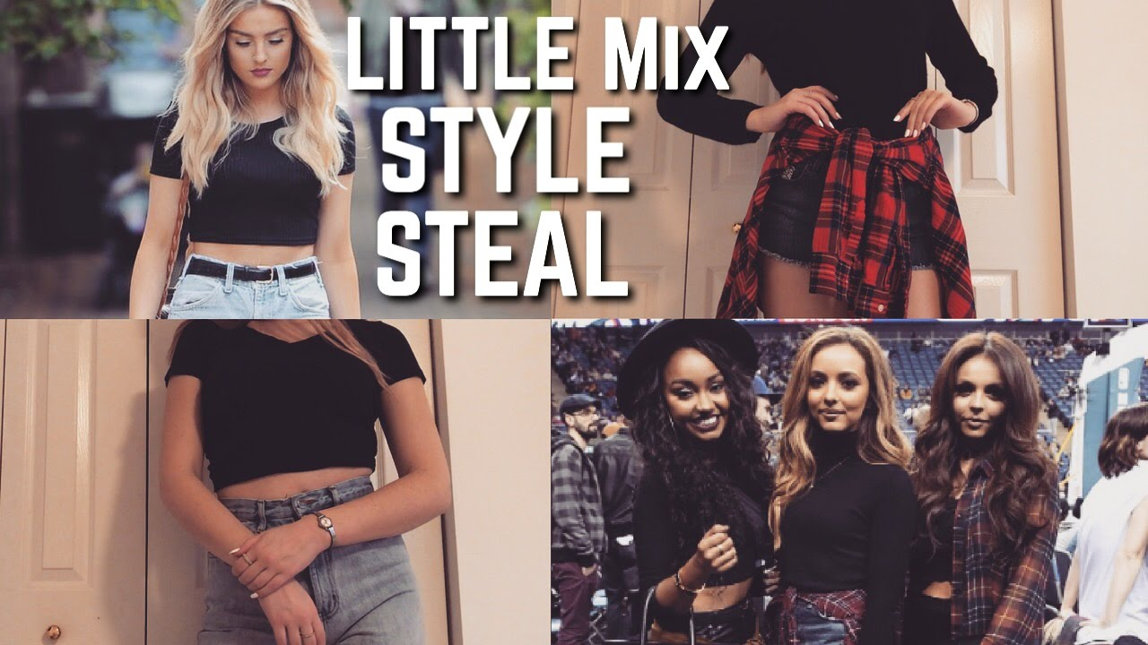 how to dress like little mix  style steal  youtube