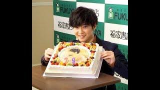 千葉雄大、サプライズのケーキに笑顔 誕生日にはセクゾ中島健人からお祝...