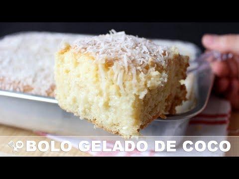O melhor BOLO GELADO DE COCO - RECEITAS QUE AMO
