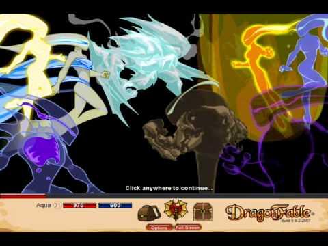 Let's Play Dragon Fable Pt 52 - The Storm War Saga - Falconreach Go Boom!