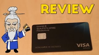 Chase Sapphire Reserve Review + Perks Explained