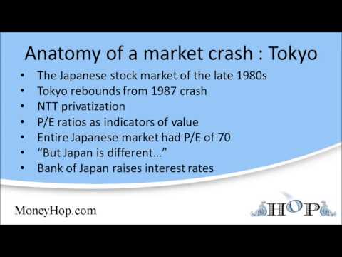 Anatomy of a market crash : Tokyo in the 1990s