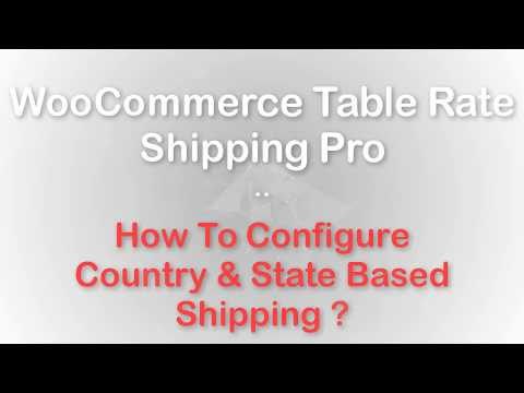 Best WooCommerce Shipping Calculator — Table Rate Shipping Pro