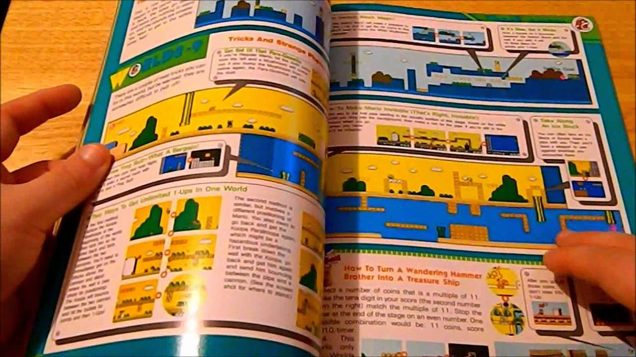 super mario bros 3 nintendo power guide youtube rh youtube com nintendo power players guide list Nintendo Power Issue 12