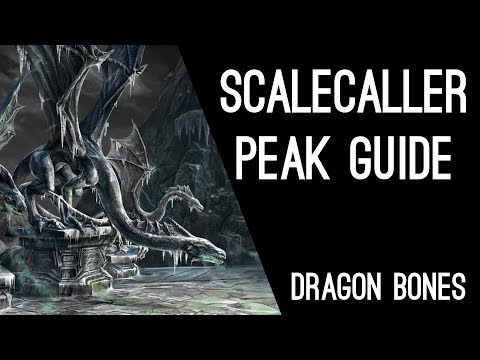 Scalecaller Peak Guide - Dragon Bones DLC Elder Scrolls Online ESO