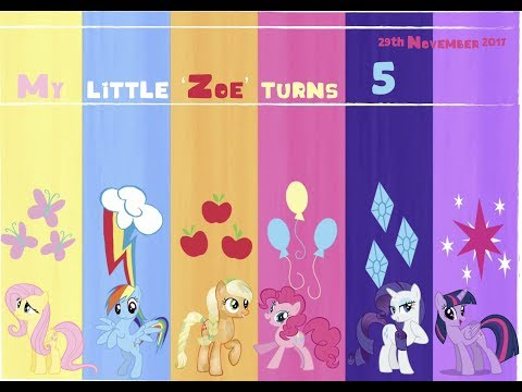Throwing a Party | My Little Pony