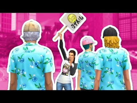The Sims 4: City Living | Part 2 - SCARING OFF TOURISTS