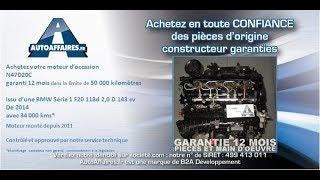 Moteur BMW Serie 1 F20 118d 2.0D 143 cv N47D20C