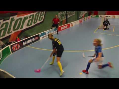 Floorball Talent G04 All Stars: Sweden Yellow - Finland Blue  29.7.2017