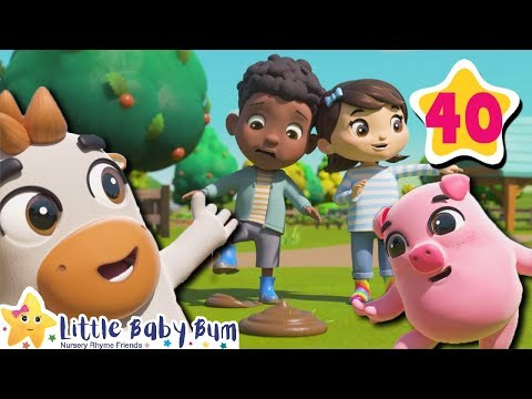 Old MacDonald | How To Nursery Rhymes | Little Baby Bum | Baby Songs For Learning