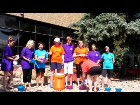 ALS Society of Alberta - Calgary Office Ice Bucket Challenge