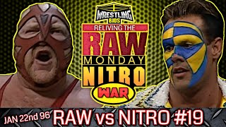 "Raw vs Nitro ""Reliving The War"": Episode 19 - Jan 22nd 1996"