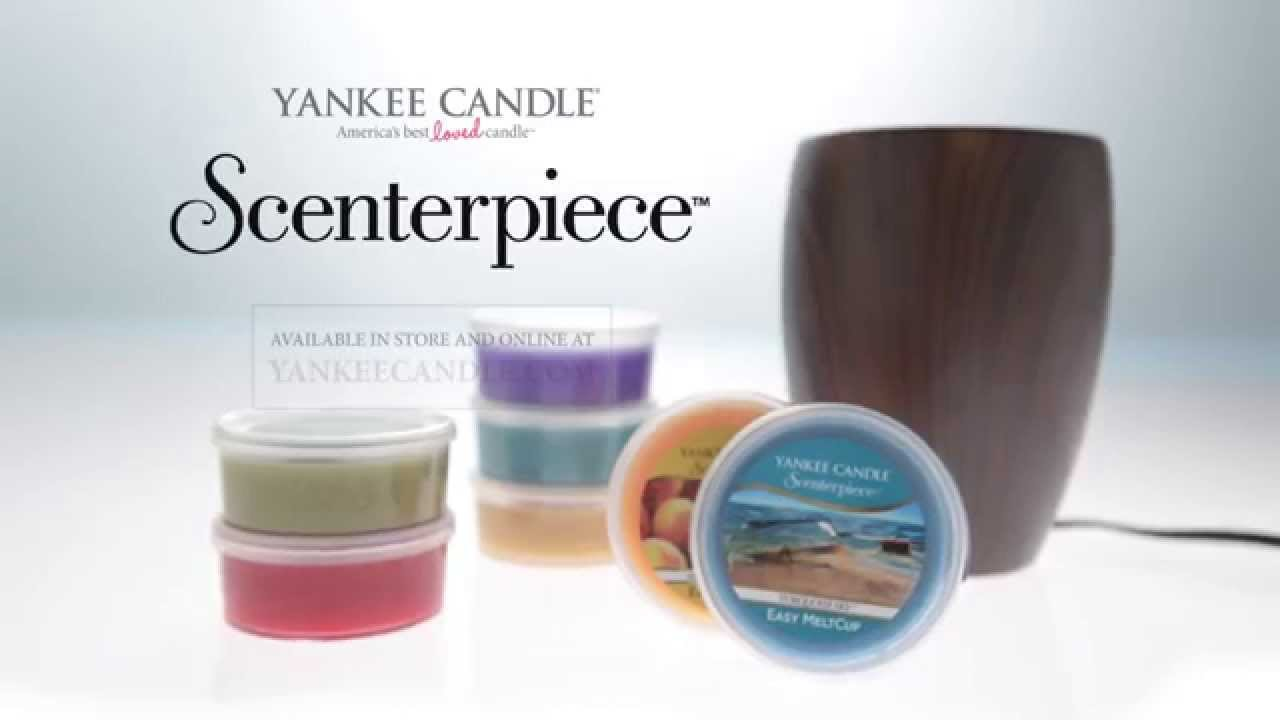 New scenterpiece™ easy melt cup system change scents in