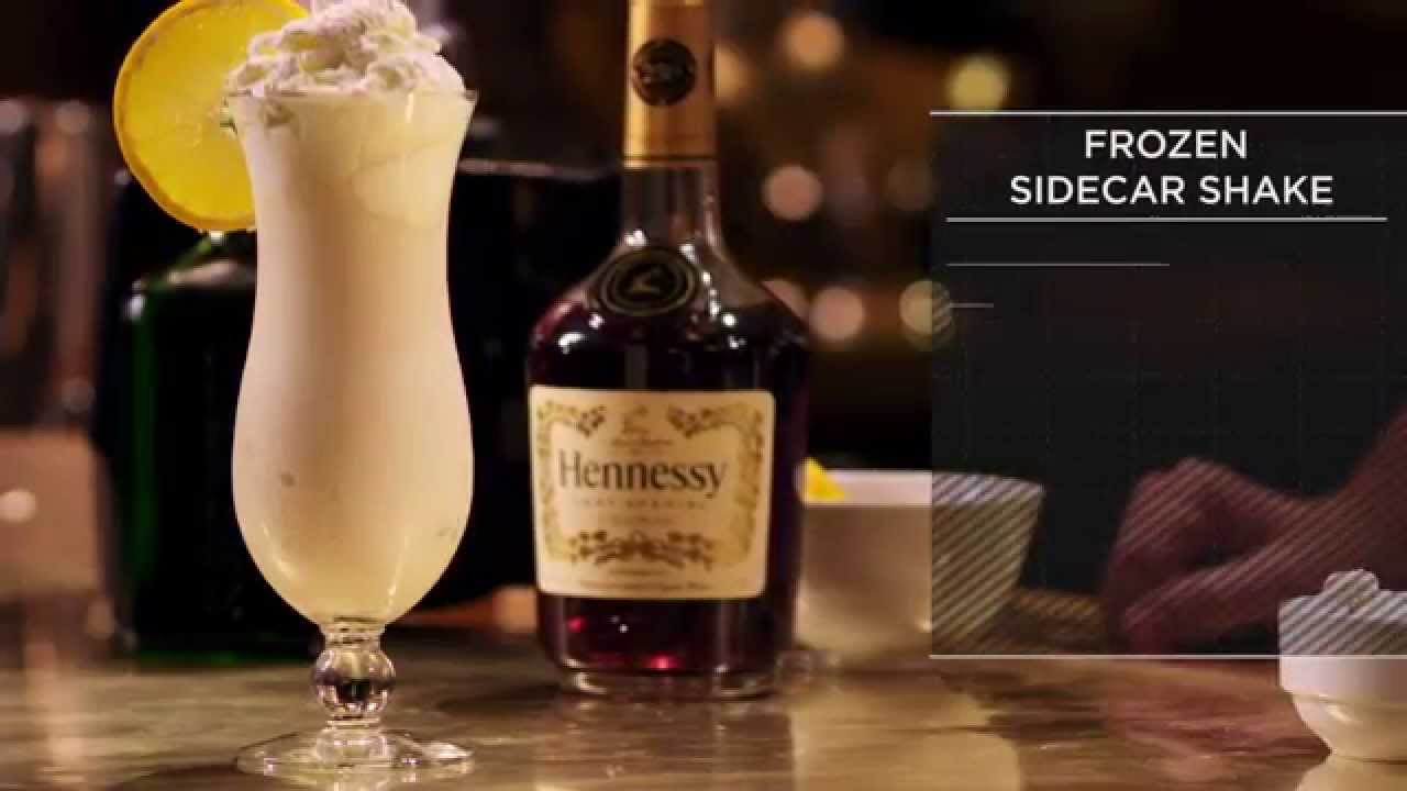 Hennessy Recipes Frozen Side Car Youtube