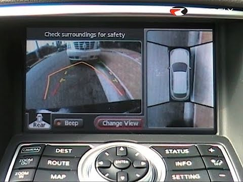 Backup Camera System >> Roadfly.com - Infiniti EX35 Around View Monitor System ...