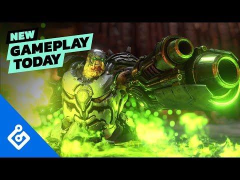 Doom Eternal - опубликован игровой процесс