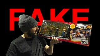 Fake WWE Figure Review & Unboxing!!!