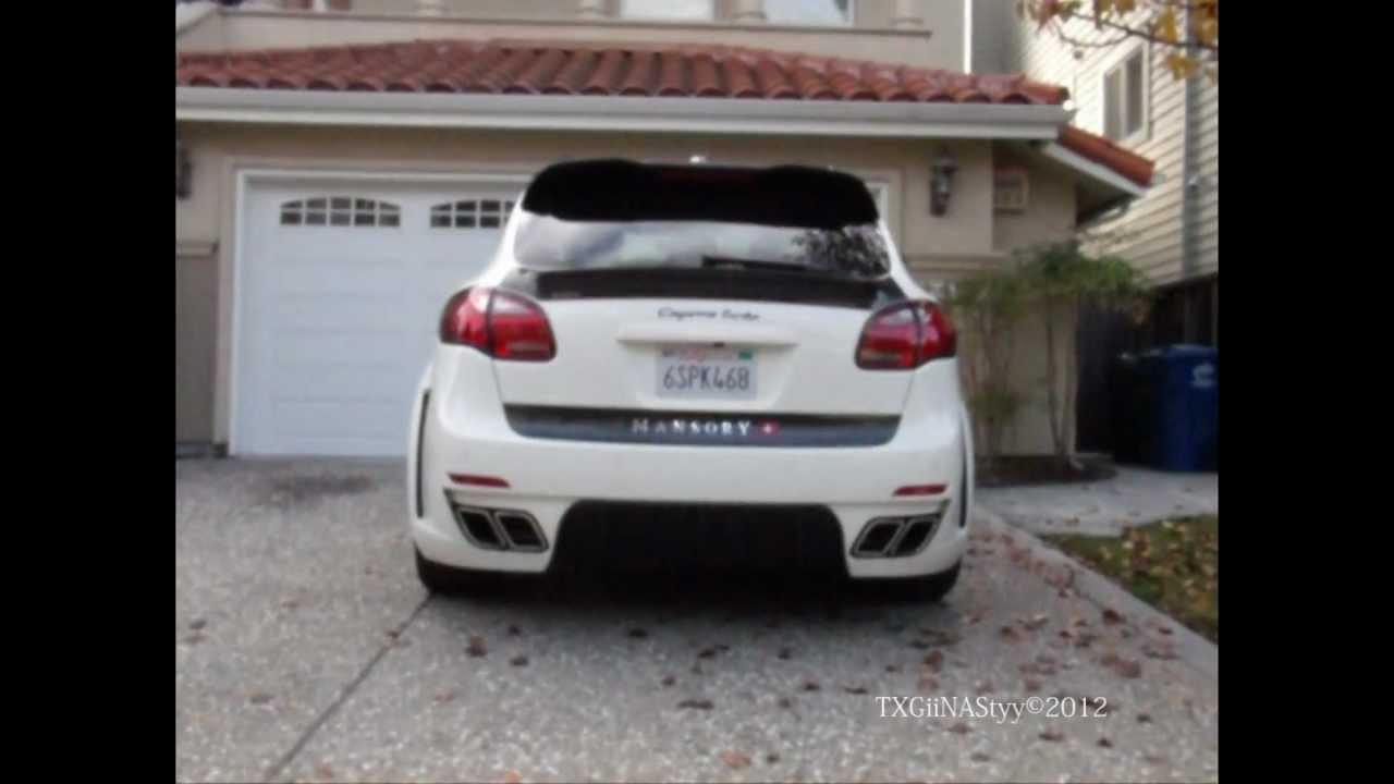 HD Mansory Porsche Cayenne Turbo 1080p  YouTube