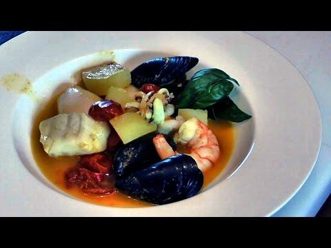 "Italian Food Recipes. ""Burrida"" Soup of Fish"