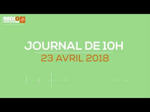 Le journal de 10H00 du 23 avril 2018- Radio Côte d'Ivoire