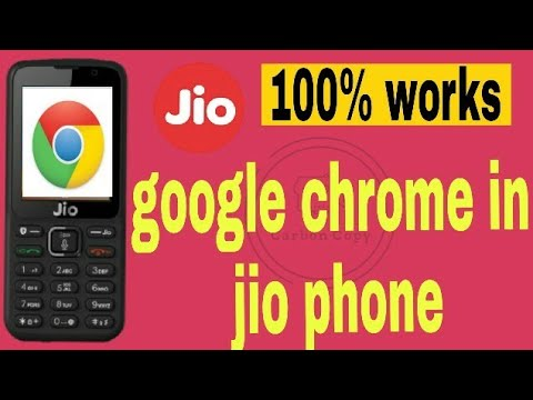How to use ! Google Chrome ! fb messenger! WhatsApp ! in Jio phone     all  in one video