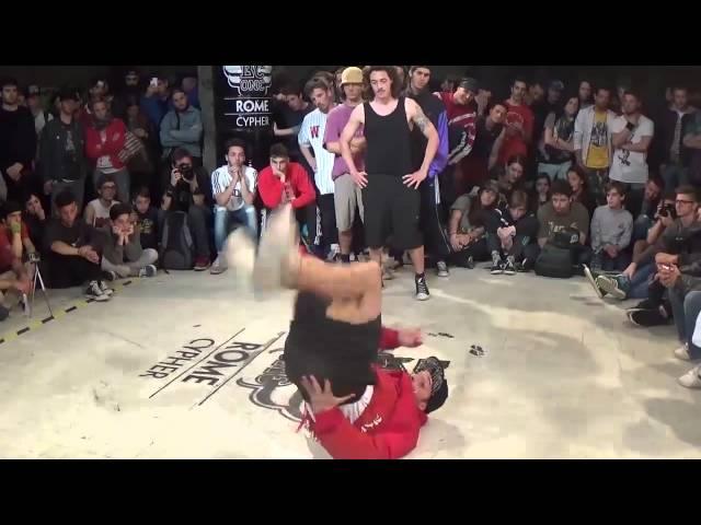Cap vs Simba -  Red Bull BC One Rome Cypher 2015