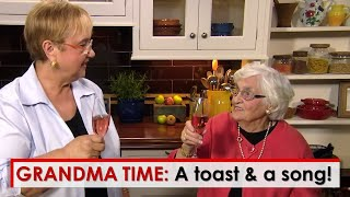 Grandma Time: A Toast and a Song with Grandma!