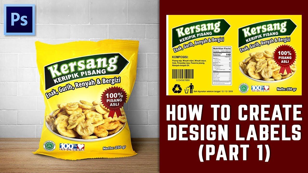 Cara Membuat Design Label Di Photoshop (PART 1)