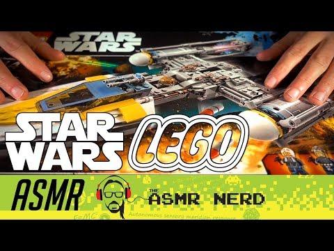 ASMR Whisper | Building Star Wars LEGO (relaxing ASMR sounds for sleep)