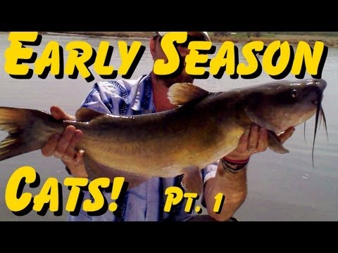 How To Locate And Catch Early Season Catfish - Part 1
