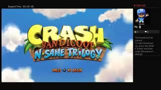 Crash Bandicoot Sane Trilogy Live