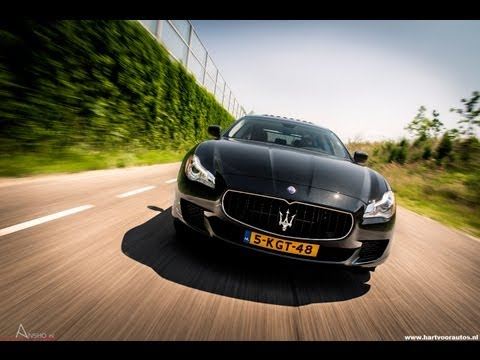 2013 Maserati Quattroporte GTS Review   Louwman Exclusive   www.hartvoorautos.nl