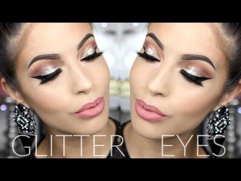Glitter Smokey Eye | Winter Makeup Tutorial