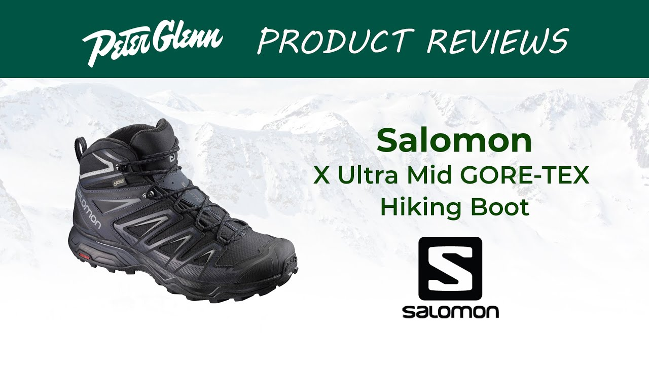 huge discount 7331e 52aa0 2019 Salomon X Ultra Mid GORE-TEX Hiking Boot Review By Peter Glenn