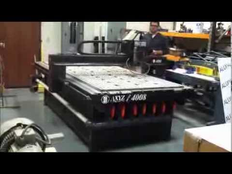 AXYZ Model 4008 CNC Router by Jim Unsworth