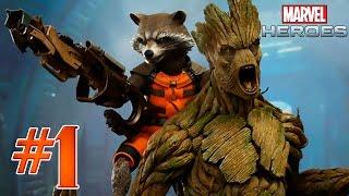 Marvel Heroes 2015 #1 - Енот 'Мордой об забор' полоскун.