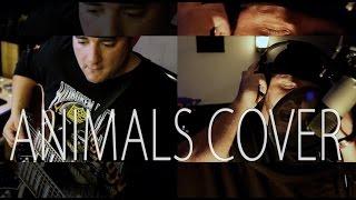 Maroon 5 Animals FULL Cover by Shaun Mason and Louie Bravo