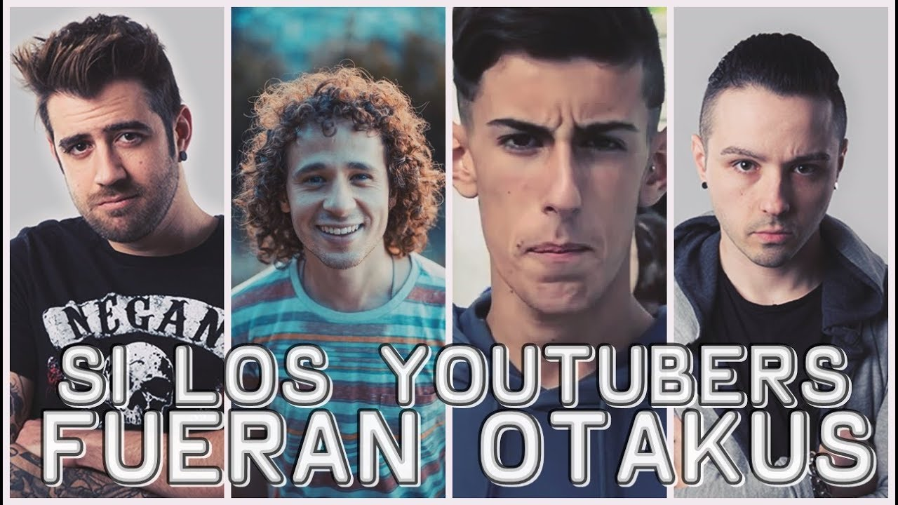 8Cho Es Actor Porno si estos youtubers fueran otakus parodia /auronplay, 8cho, luisito,  elcejas