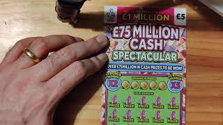 £5 mix scratch cards on Wednes…