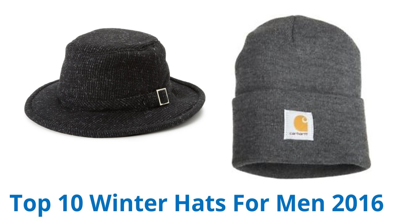 10 Best Winter Hats For Men 2016 - YouTube fc1059d8739