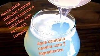 ÁGUA SANITÁRIA CASEIRA PARA TODAS AS CORES