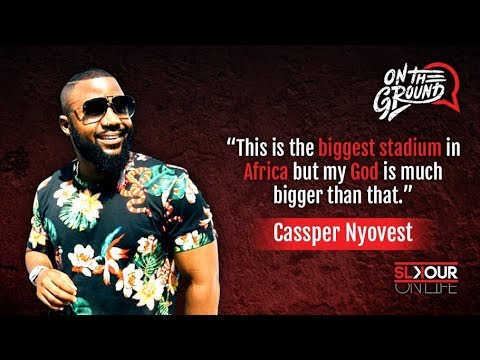 On The Ground: Cassper Nyovest's Last Interview Before #FillUpFNBStadium (Everything To Know)