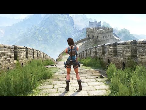 Tomb Raider 2 The Dagger Of Xian - FULL Gameplay Walkthrough DEMO (Fan Nicobass' Remake) UG4