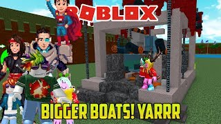 Roblox: SLOWEST BOAT IN THE HISTORY OF BOATS (Build a Boat for Treasure PART 2)