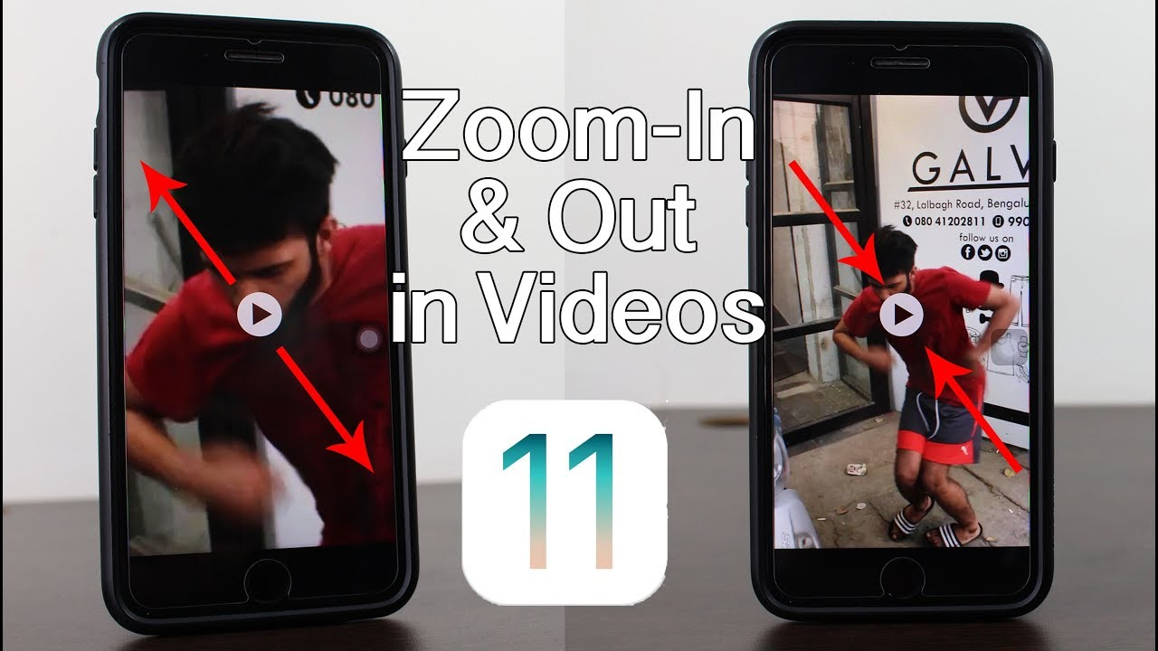 How To Zoom In Zoom Out Video On Iphone And Ipad Youtube