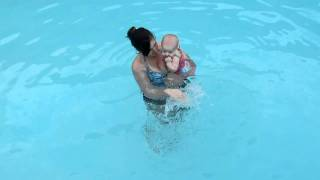 Sadie and I in the pool Thumbnail
