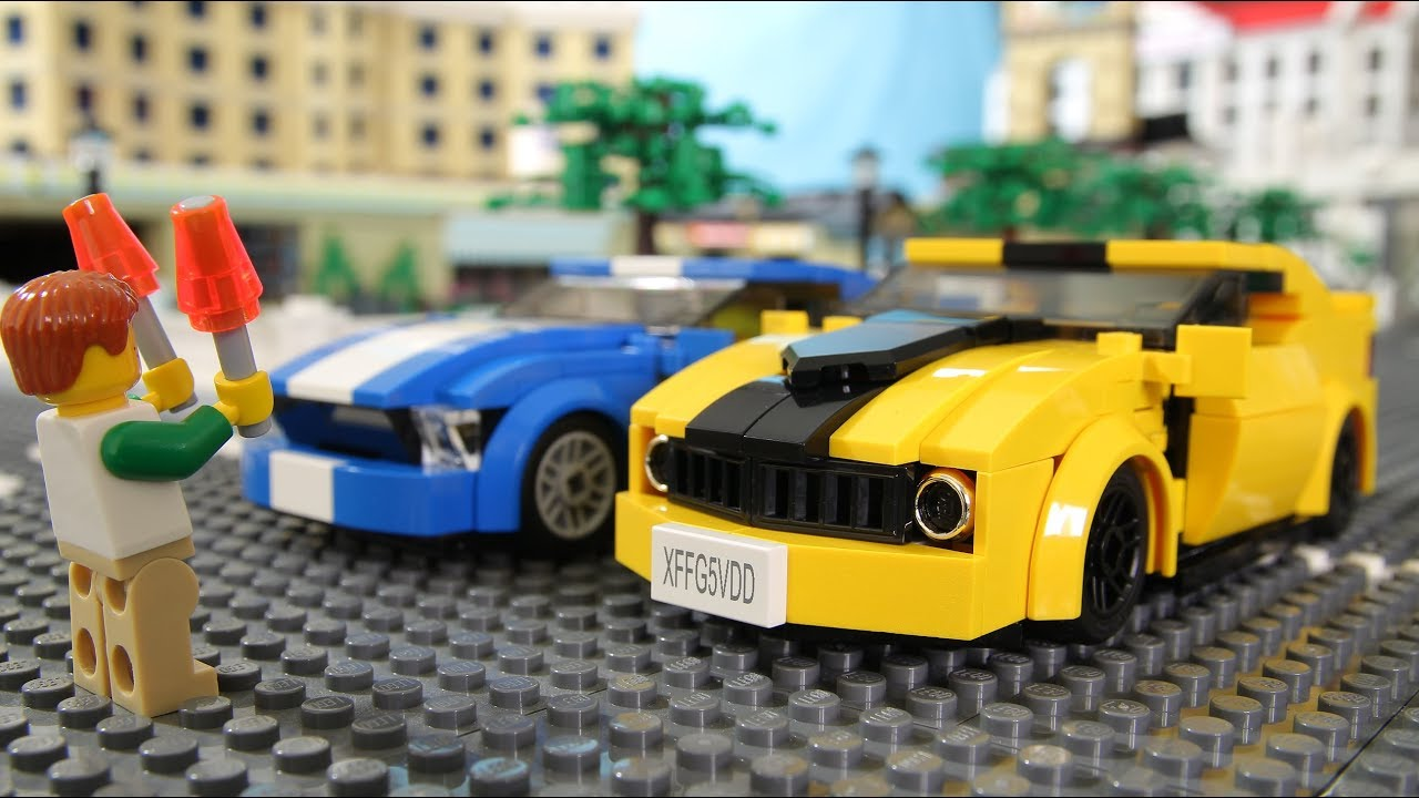 Lego Street Race Youtube