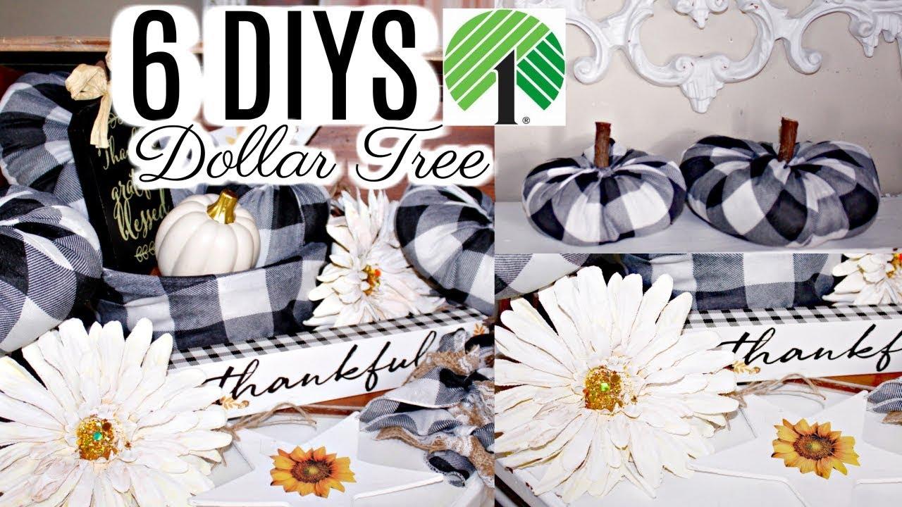 6 Diy Dollar Tree Fall Decor Crafts 2019 I Love Fall Ep 4 Olivia S Romantic Home Diy Tutorials